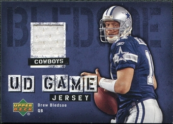 2006 Upper Deck Game Jerseys #GJBL Drew Bledsoe