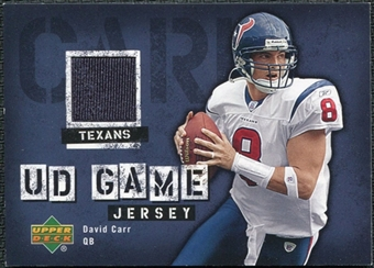 2006 Upper Deck Game Jerseys #GJCA David Carr