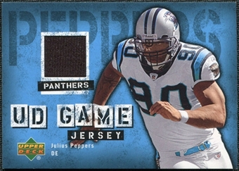 2006 Upper Deck Game Jerseys #GJJP Julius Peppers