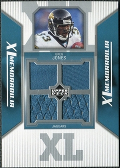2006 Upper Deck XL Jerseys #XLGJ Greg Jones
