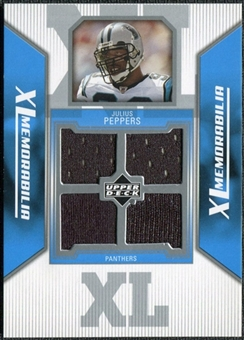 2006 Upper Deck XL Jerseys #XLJP Julius Peppers