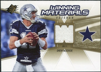 2006 Upper Deck SPx Winning Materials #WMVDB Drew Bledsoe