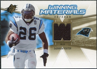 2006 Upper Deck SPx Winning Materials #WMVDF DeShaun Foster