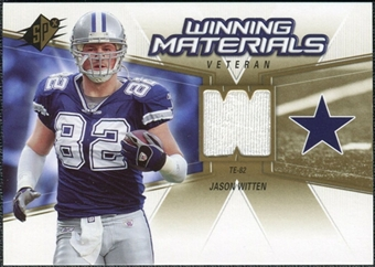 2006 Upper Deck SPx Winning Materials #WMVJW Jason Witten