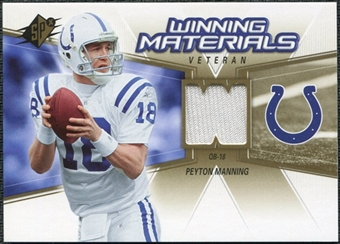 2006 Upper Deck SPx Winning Materials #WMVPM Peyton Manning
