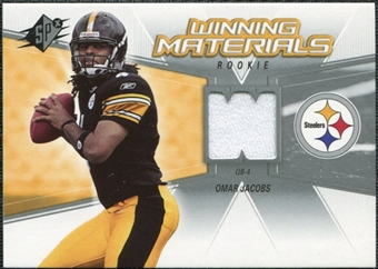 2006 Upper Deck SPx Rookie Winning Materials #WMROJ Omar Jacobs