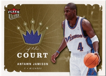 2006/07 Fleer Ultra Kings of the Court #KKAJ Antawn Jamison