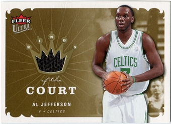 2006/07 Fleer Ultra Kings of the Court #KKAL Al Jefferson
