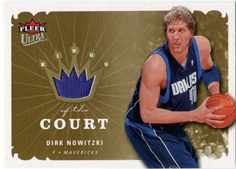 2006/07 Fleer Ultra Kings of the Court #KKDN Dirk Nowitzki