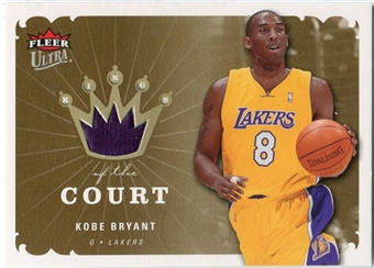 2006/07 Fleer Ultra Kings of the Court #KKKB Kobe Bryant
