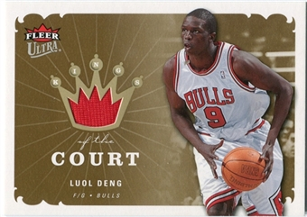 2006/07 Fleer Ultra Kings of the Court #KKLD Luol Deng