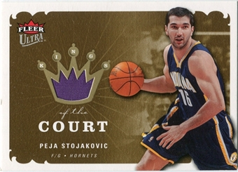2006/07 Fleer Ultra Kings of the Court #KKPS Peja Stojakovic