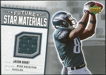 2006 Upper Deck Rookie Debut Future Star Materials Silver #FSMJA Jason Avant
