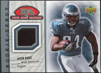 2006 Upper Deck Rookie Debut Rookie Jerseys #71TE Jason Avant