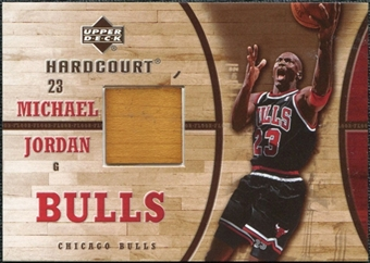 2006/07 Upper Deck Hardcourt Game Floor #11 Michael Jordan
