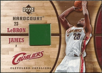 2006/07 Upper Deck Hardcourt Game Floor #23 LeBron James