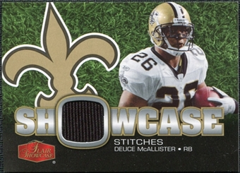 2006 Upper Deck Flair Showcase Stitches Jersey Deuce McAllister #SHSDM