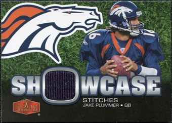 2006 Upper Deck Flair Showcase Stitches Jersey Jake Plummer #SHSJP