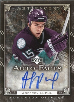 2006/07 Upper Deck Artifacts Autofacts #AFJL Joffrey Lupul SP
