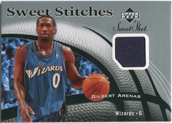 2006/07 Upper Deck Sweet Shot Stitches #GA Gilbert Arenas