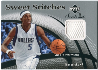 2006/07 Upper Deck Sweet Shot Stitches #JH Josh Howard