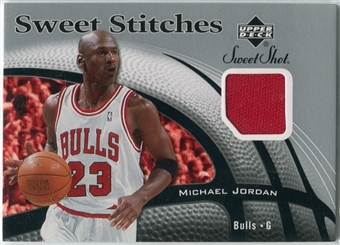 2006/07 Upper Deck Sweet Shot Stitches #MJ Michael Jordan SP