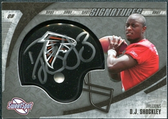 2006 Upper Deck Sweet Spot Signatures #DS D.J. Shockley Autograph