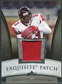 2006 Upper Deck Exquisite Collection Patch Silver #EPAC Alge Crumpler /50