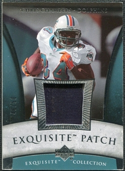 2006 Upper Deck Exquisite Collection Patch Silver #EPCC Chris Chambers /50