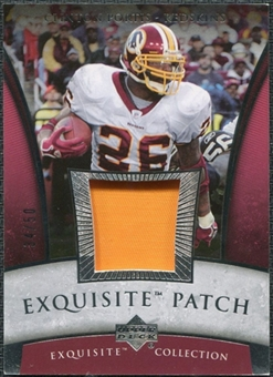 2006 Upper Deck Exquisite Collection Patch Silver #EPCP Clinton Portis /50