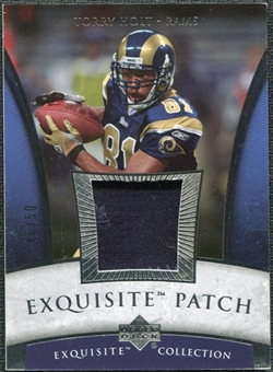 2006 Upper Deck Exquisite Collection Patch Silver #EPHO Torry Holt /50