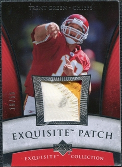 2006 Upper Deck Exquisite Collection Patch Silver #EPTG Trent Green /50