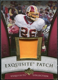 2006 Upper Deck Exquisite Collection Patch Gold #EPCP Clinton Portis /30