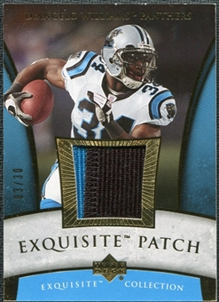 2006 Upper Deck Exquisite Collection Patch Gold #EPDW DeAngelo Williams /30