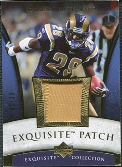 2006 Upper Deck Exquisite Collection Patch Gold #EPMF Marshall Faulk /30