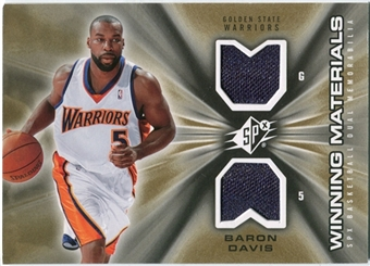 2006/07 Upper Deck SPx Winning Materials #WMBD Baron Davis