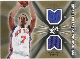 2006/07 Upper Deck SPx Winning Materials #WMCF Channing Frye