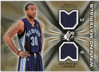 2006/07 Upper Deck SPx Winning Materials #WMDJ Dahntay Jones