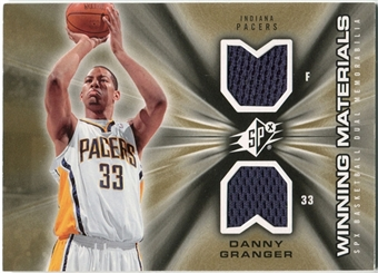 2006/07 Upper Deck SPx Winning Materials #WMGR Danny Granger