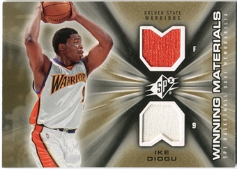 2006/07 Upper Deck SPx Winning Materials #WMID Ike Diogu