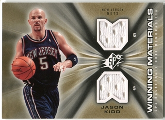 2006/07 Upper Deck SPx Winning Materials #WMJK Jason Kidd