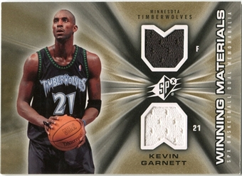 2006/07 Upper Deck SPx Winning Materials #WMKG Kevin Garnett