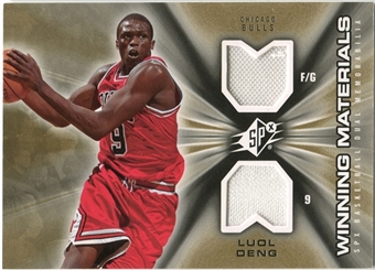 2006/07 Upper Deck SPx Winning Materials #WMLD Luol Deng