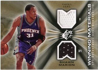 2006/07 Upper Deck SPx Winning Materials #WMMA Shawn Marion