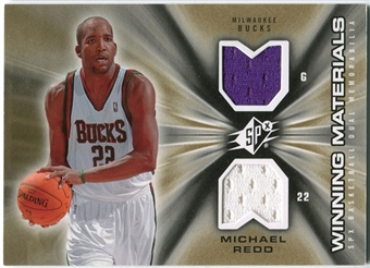 2006/07 Upper Deck SPx Winning Materials #WMMR Michael Redd