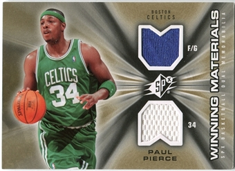 2006/07 Upper Deck SPx Winning Materials #WMPP Paul Pierce