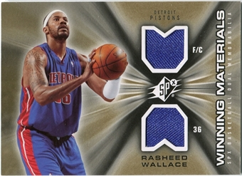 2006/07 Upper Deck SPx Winning Materials #WMRW Rasheed Wallace