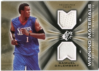 2006/07 Upper Deck SPx Winning Materials #WMSD Samuel Dalembert