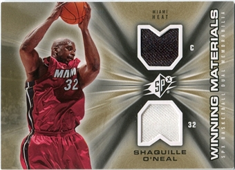 2006/07 Upper Deck SPx Winning Materials #WMSO Shaquille O'Neal