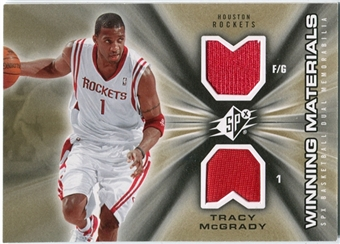 2006/07 Upper Deck SPx Winning Materials #WMTM Tracy McGrady